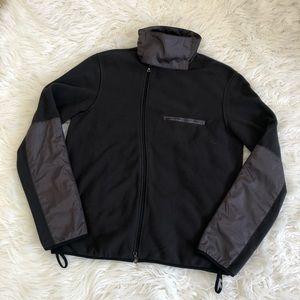 ❤️ NWT❤️ PRADA SPORT high neck fleece jacket
